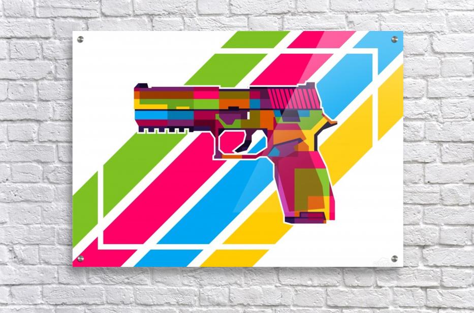 SIG P250 Handgun  Acrylic Print