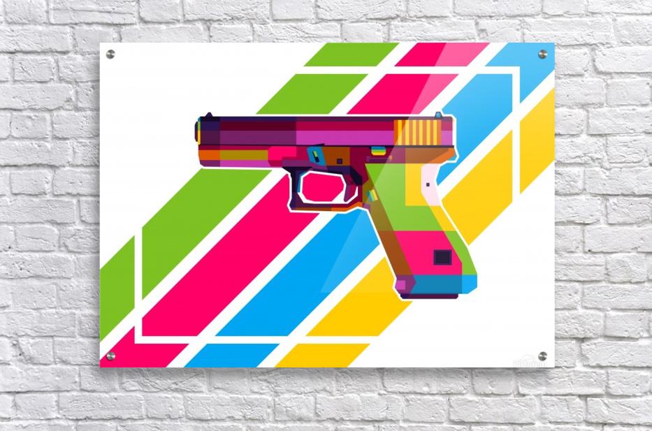 Glock Handgun  Acrylic Print