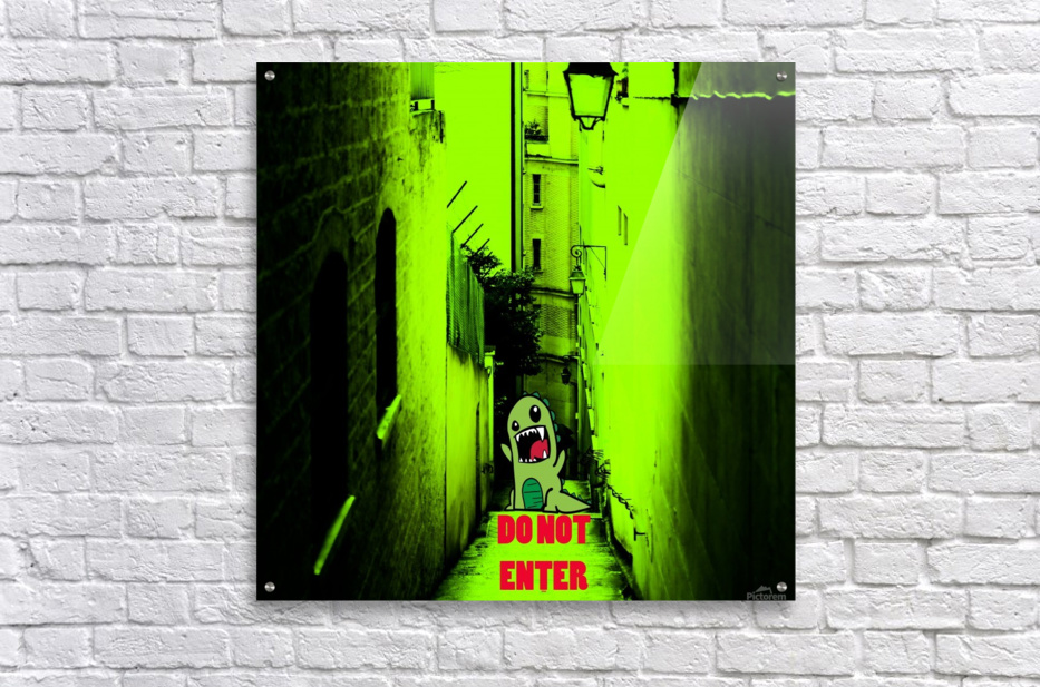 DO NOT ENTER  Acrylic Print