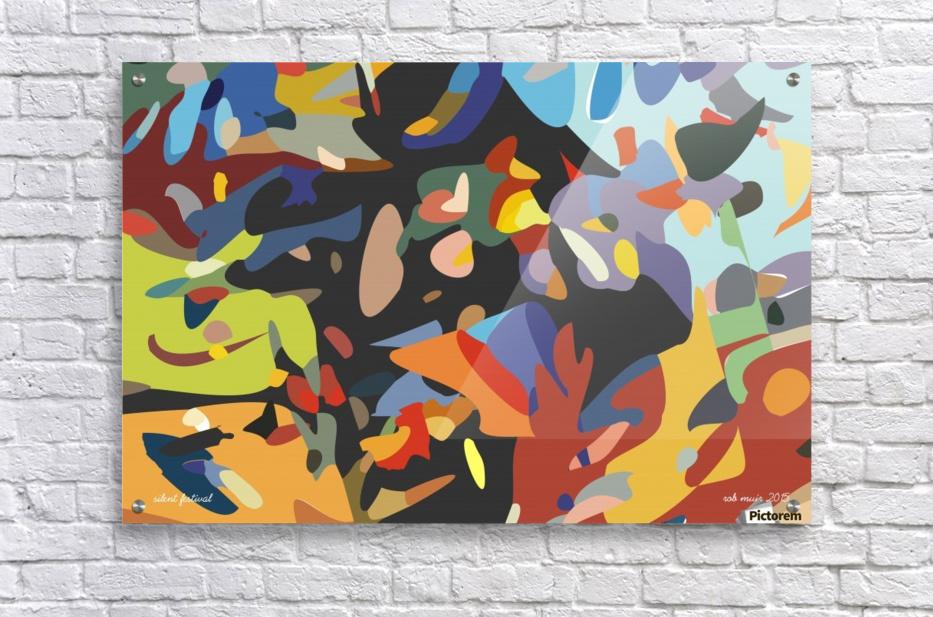 silent festival  Acrylic Print