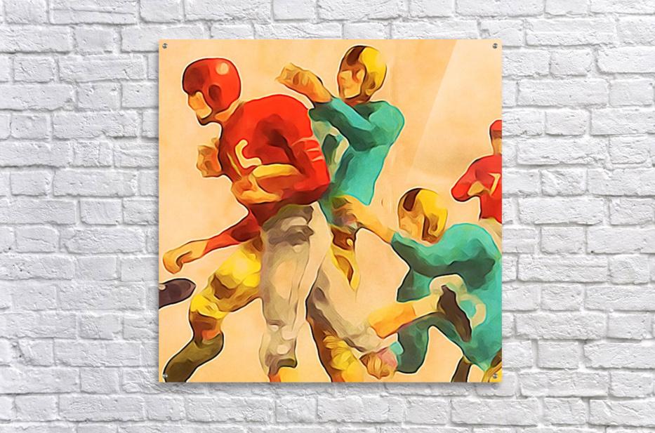 Vintage Football Jersey Art Print  Acrylic Print