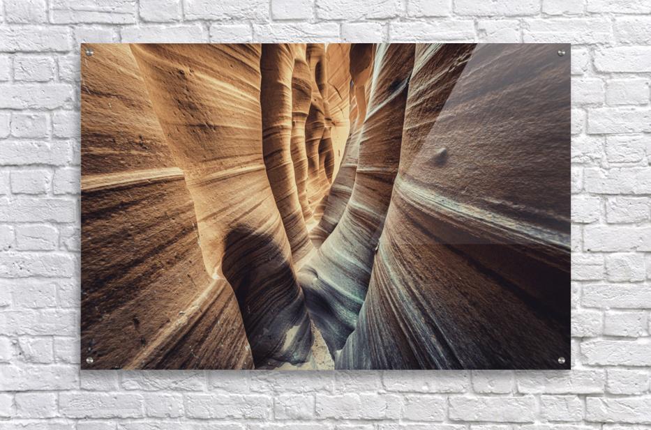 Zebra Slot Canyon II  Acrylic Print