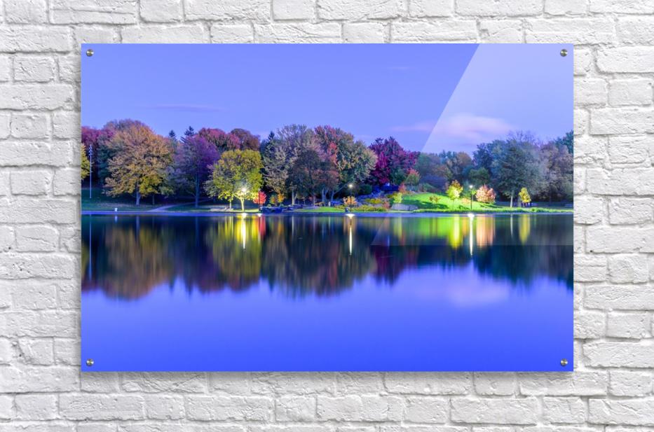 Beaver lake reflection  Acrylic Print