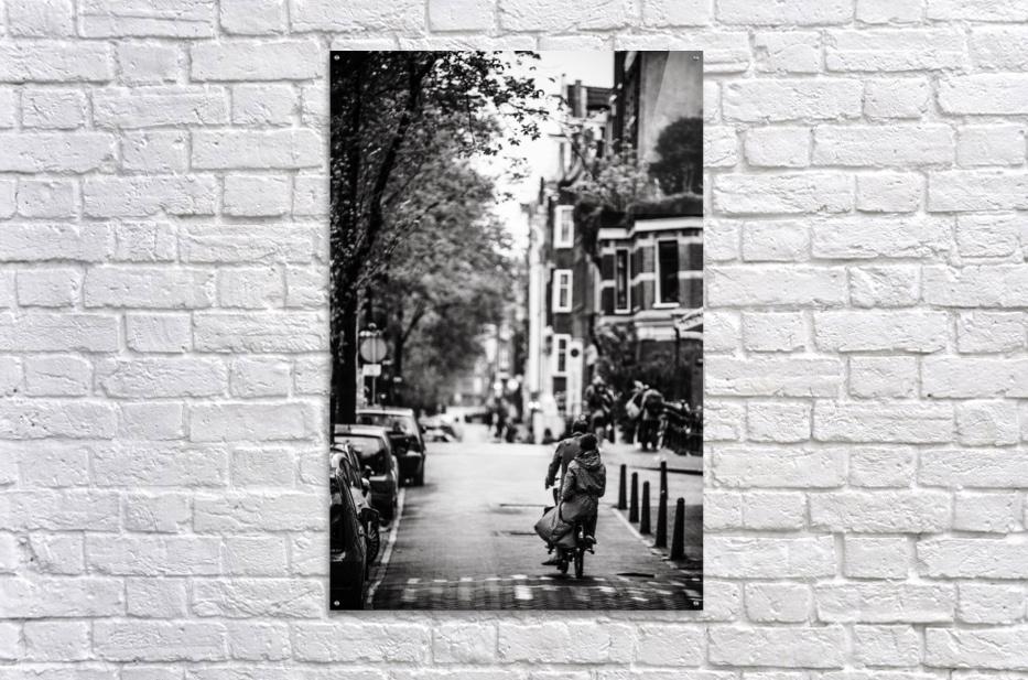 Raining in Amsterdam  Acrylic Print