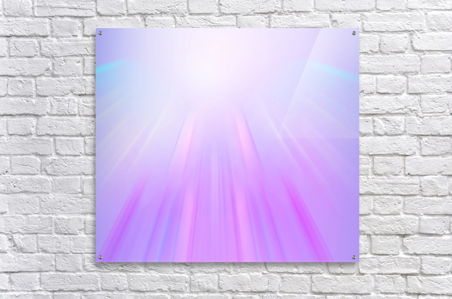 Purple Angel  Acrylic Print