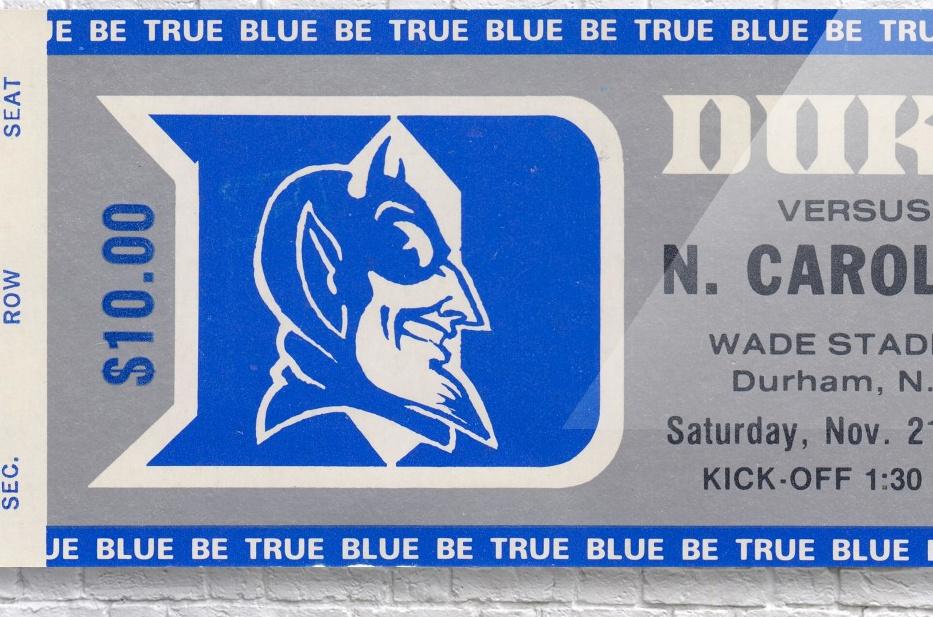 1981 Duke vs. North Carolina  Acrylic Print