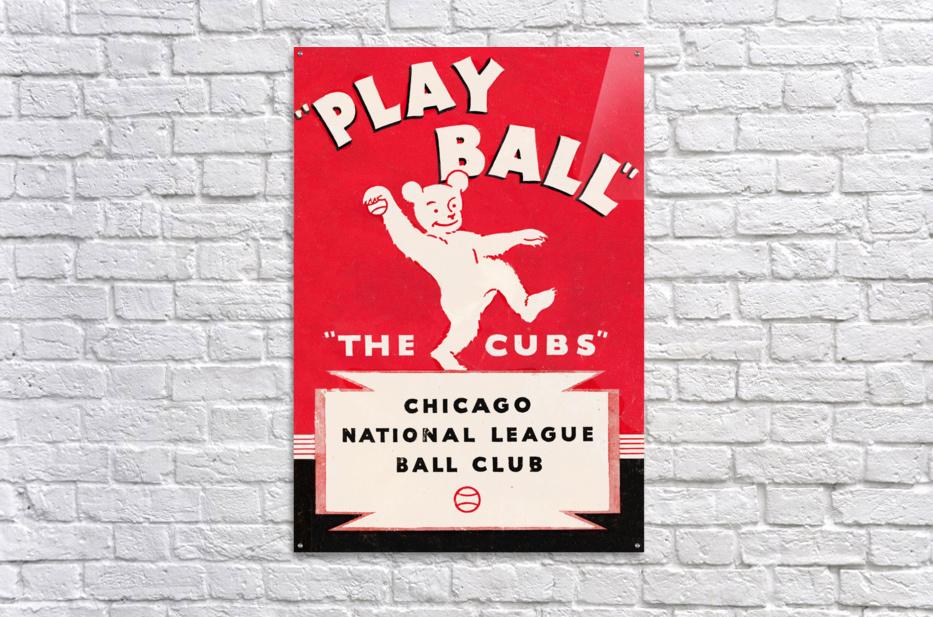 1934 Chicago Cubs   Acrylic Print