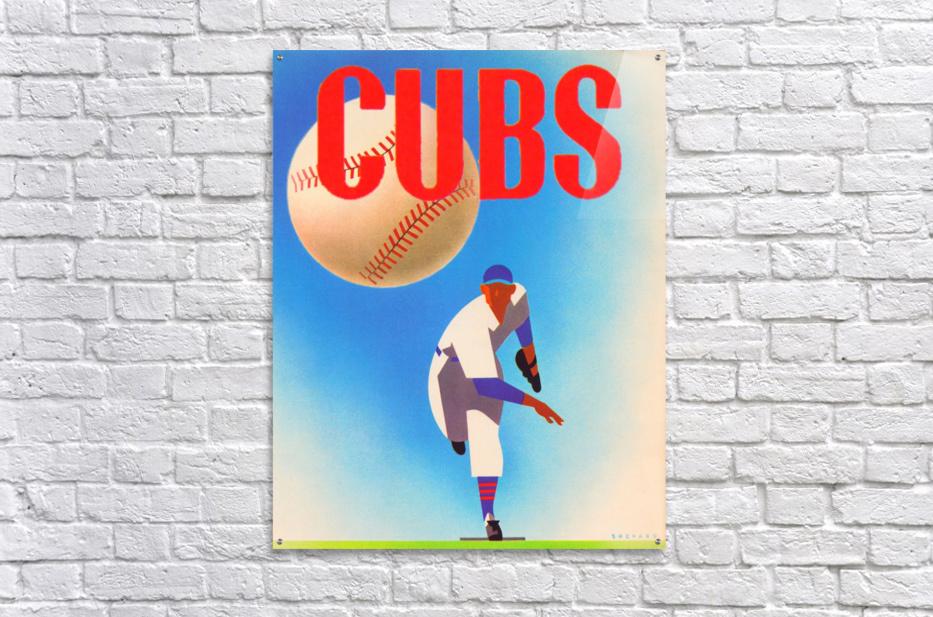 Cubs Art  Acrylic Print