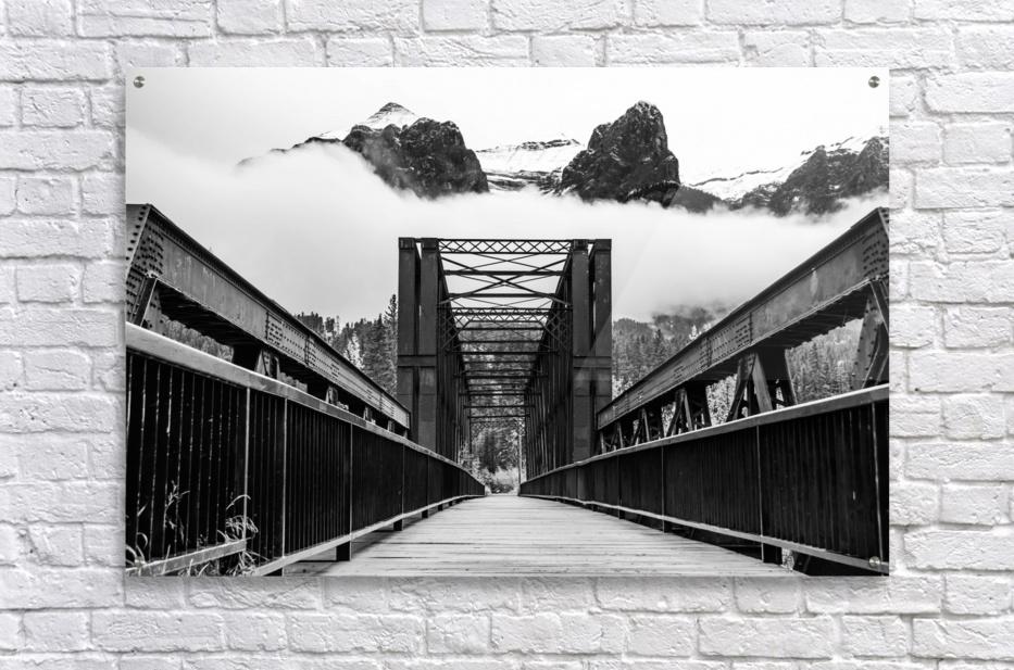 Canmore Iconic Engine Bridge  Acrylic Print