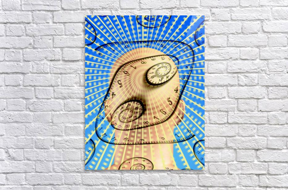 Time Bent  Acrylic Print
