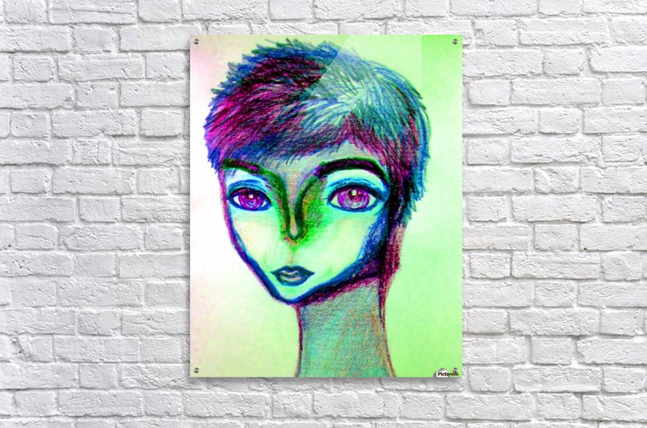 spritecolorsalien7  Acrylic Print