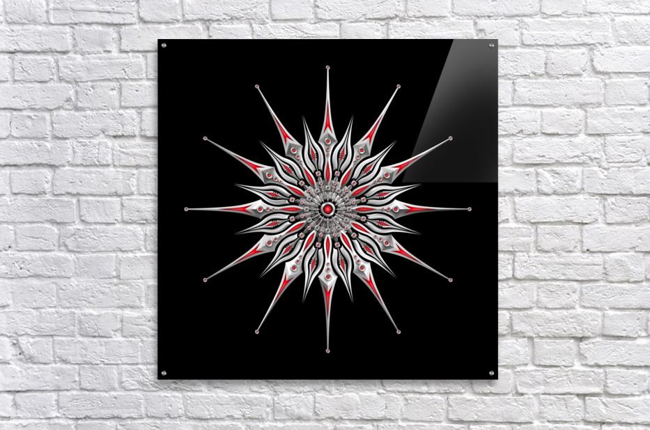 Starfish Fusion Mandala  Acrylic Print
