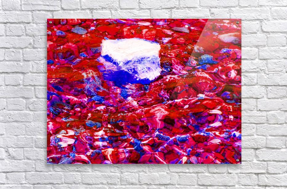 Chimney Bluffs  Acrylic Print