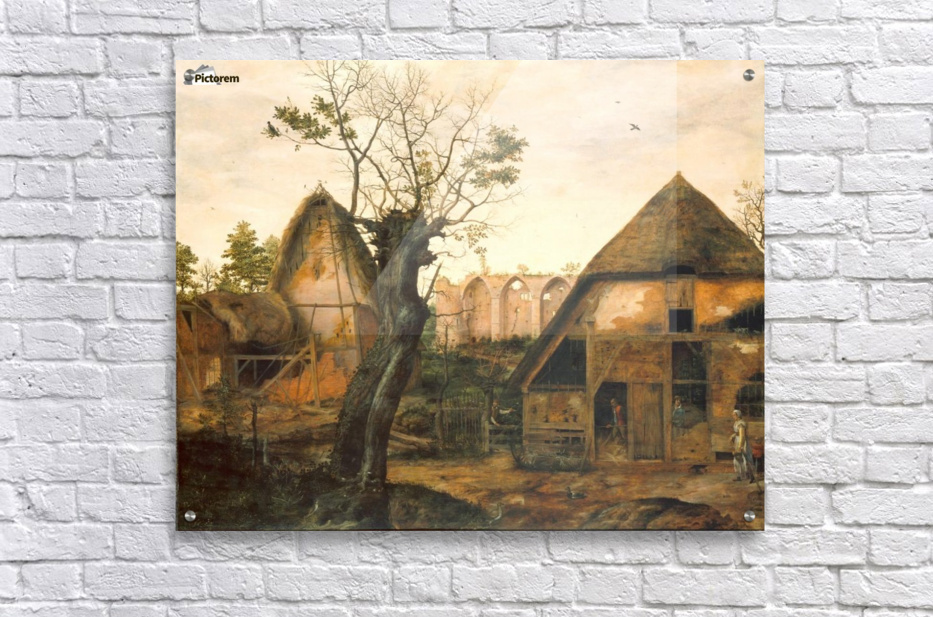 Landscape with Farmhouse  Acrylic Print