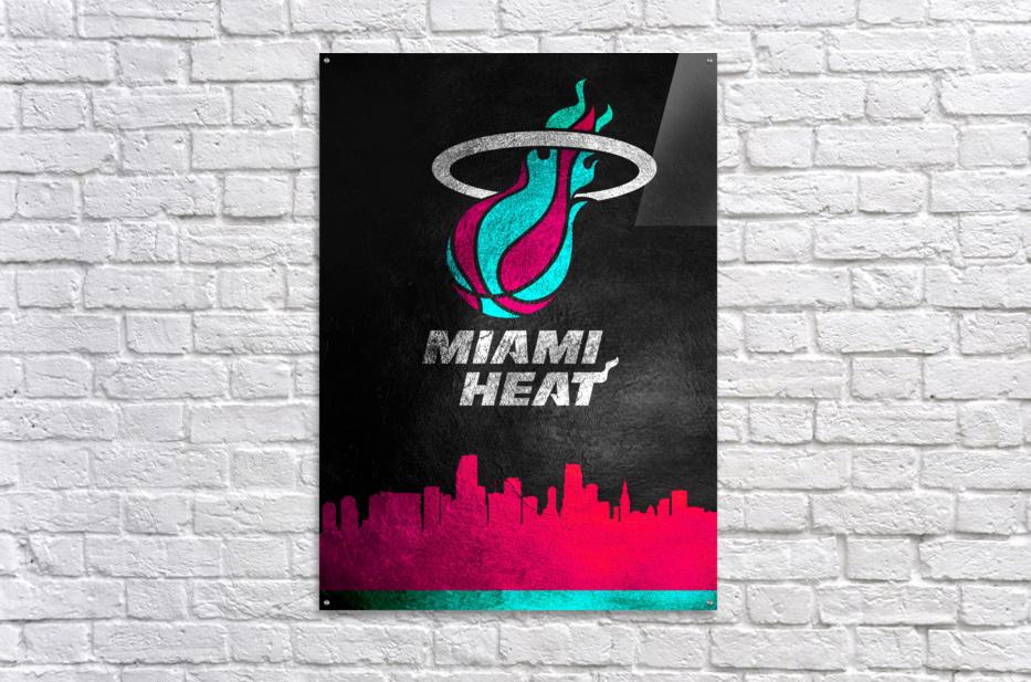 Miami Heat Vice 2  Acrylic Print