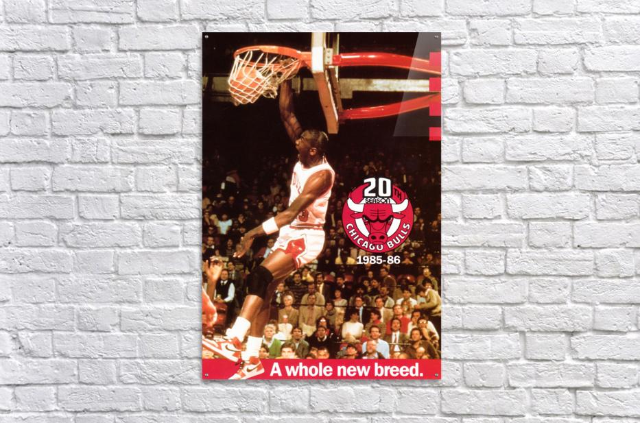 1985 Michael Jordan Dunk  Acrylic Print