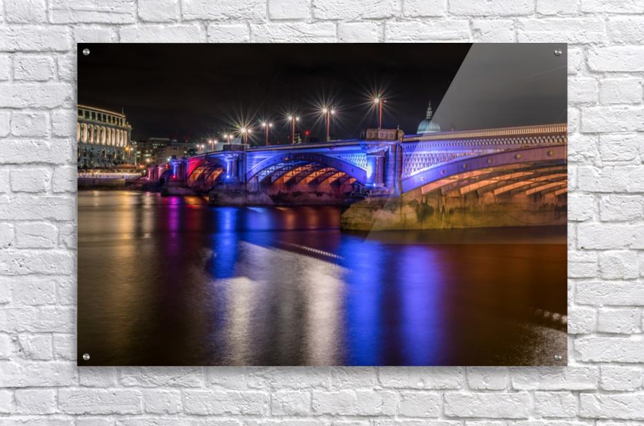 London Bridge at night  Acrylic Print