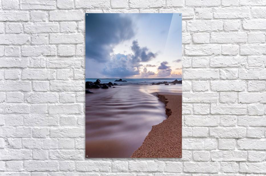 Where the Heavens Meet the Sea  Acrylic Print