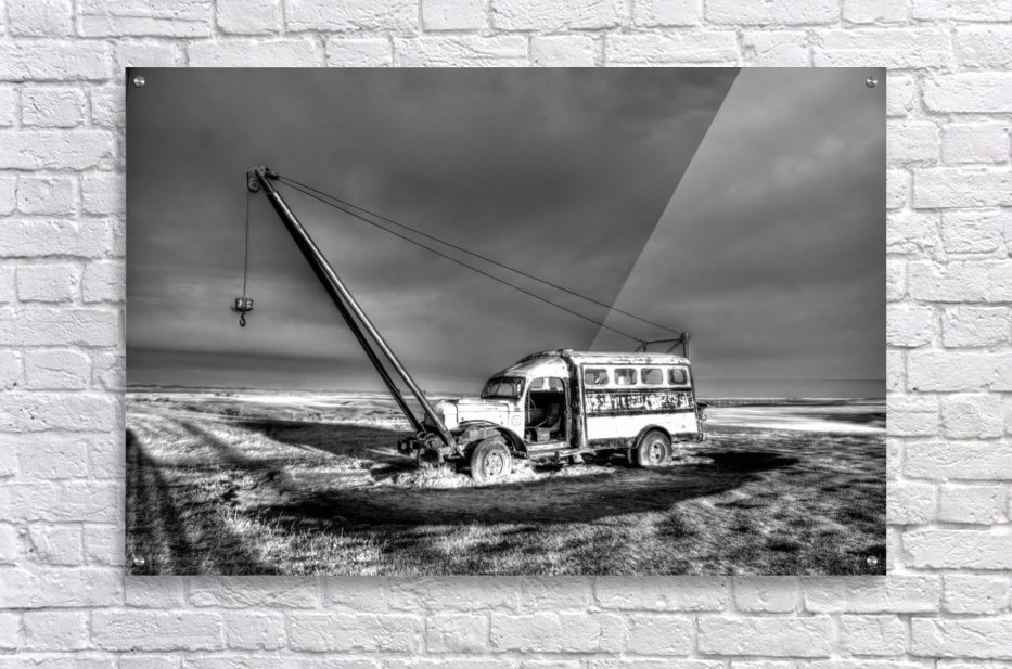 Vintage Boom Truck  Acrylic Print