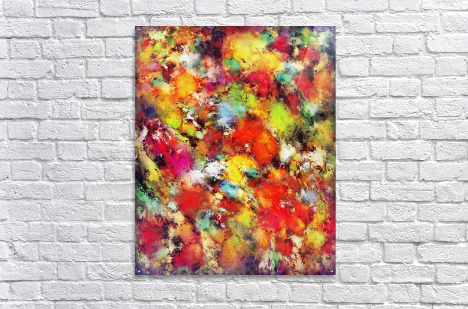Big colour storm  Acrylic Print
