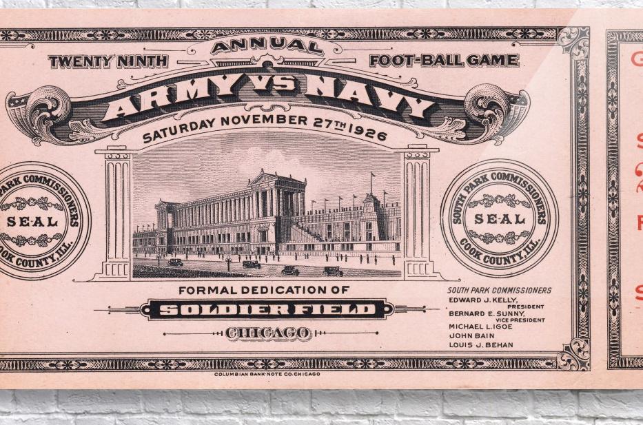 1926 Army vs. Navy  Acrylic Print