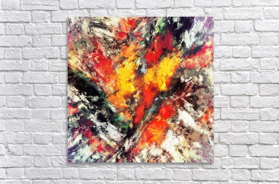Clattering  Impression acrylique