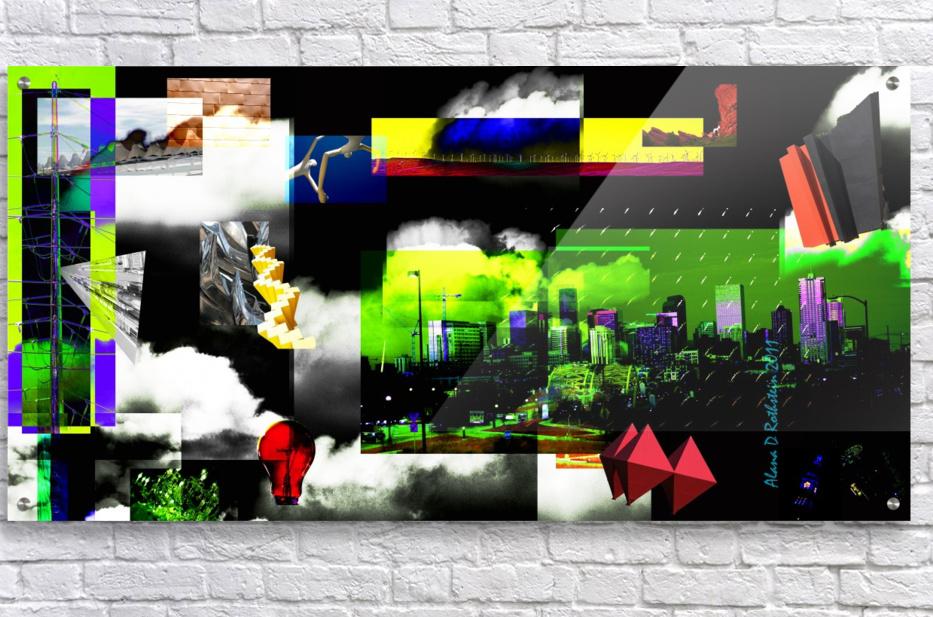 URBAN DENVER 2011  Acrylic Print