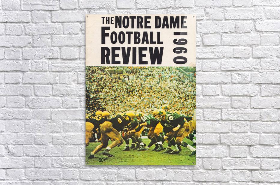 1960 notre dame football  Acrylic Print