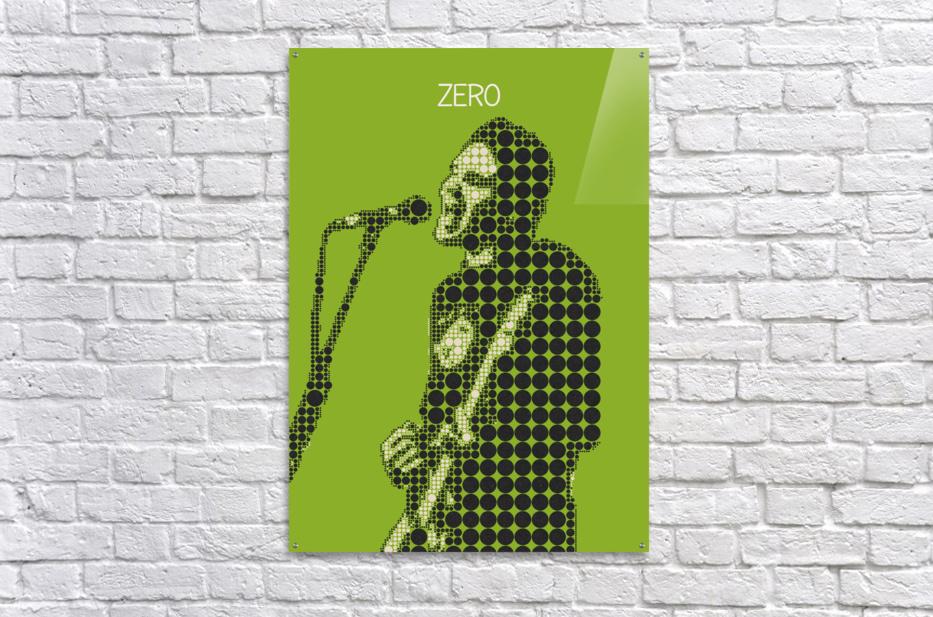 Zero   billy Corgan  Acrylic Print