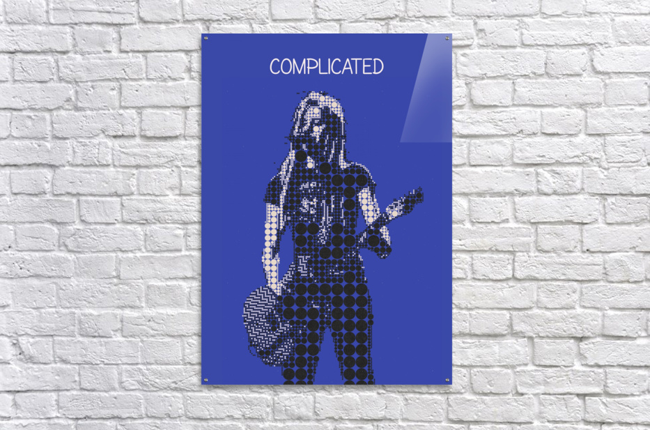 Complicated   Avril Lavigne  Acrylic Print