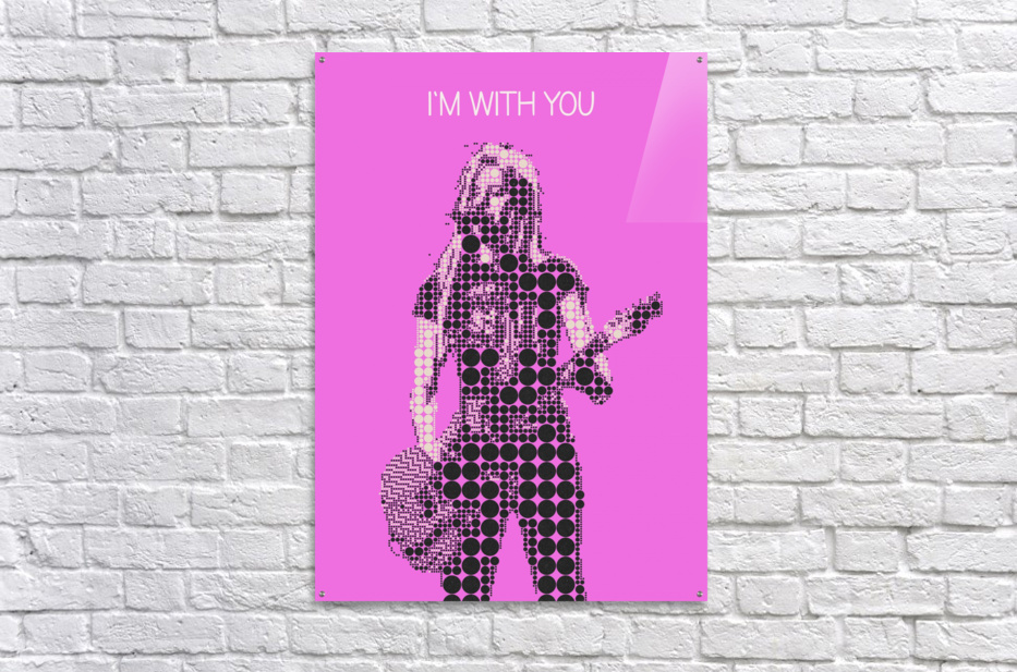 im with you   Avril Lavigne  Acrylic Print