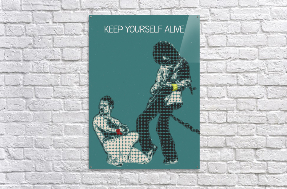 Keep Yourself Alive   Queen  Acrylic Print