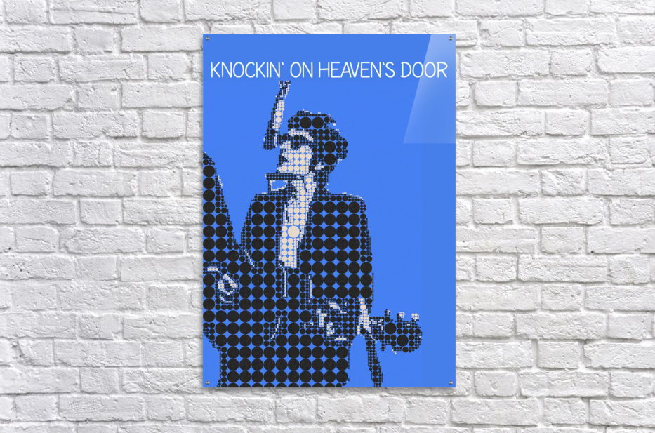 Knockin on Heavens Door   Bob Dylan  Acrylic Print