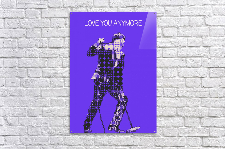 Love You Anymore   Michael Buble  Acrylic Print