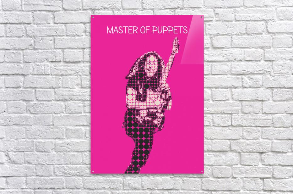 Master Of Puppets   Kirk Hammett  Acrylic Print