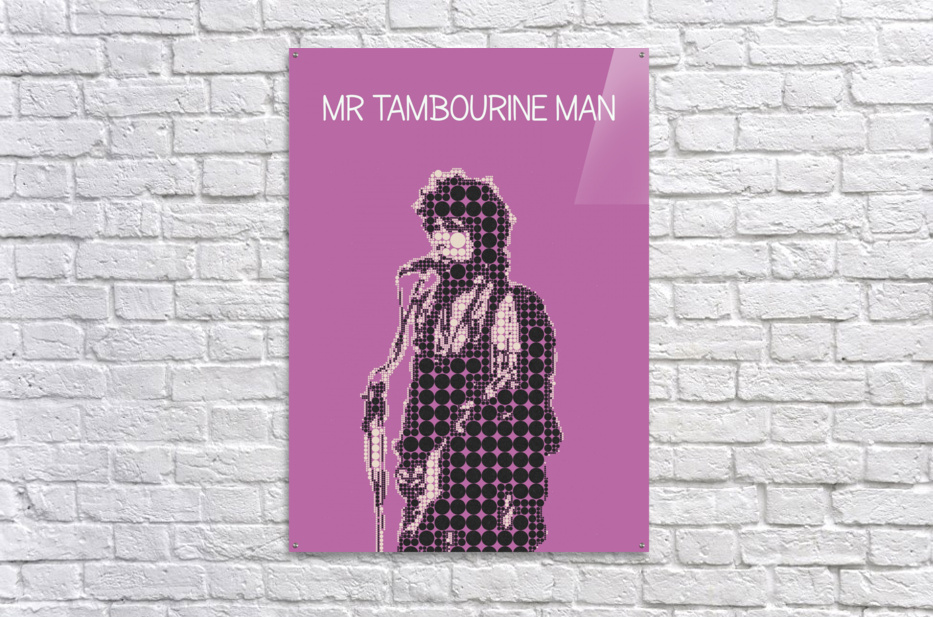 Mr Tambourine Man   Bob Dylan  Acrylic Print