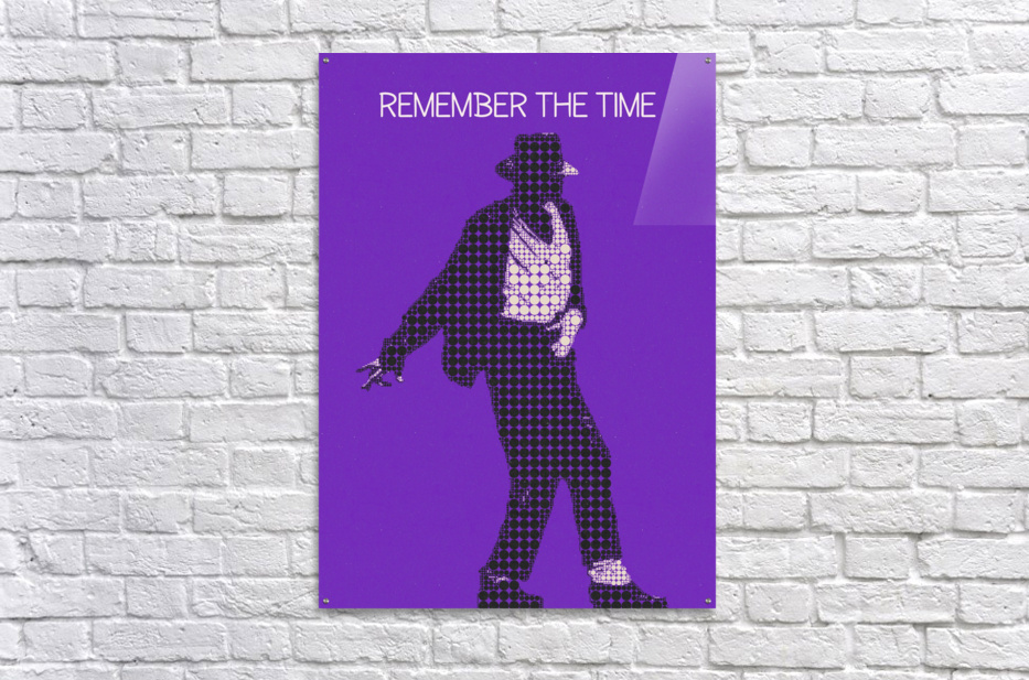 remember the time   Michael Jackson  Acrylic Print
