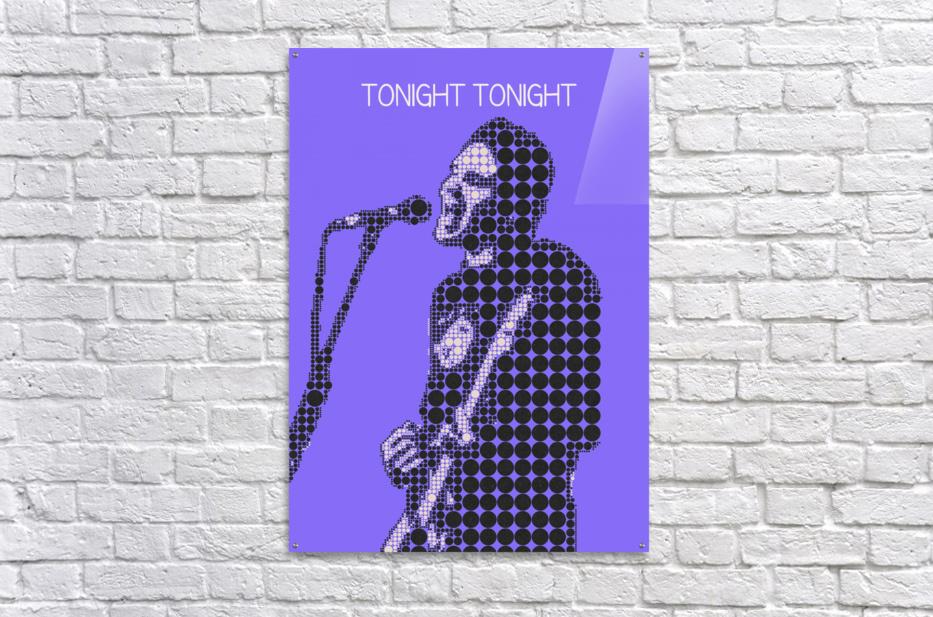 tonight tonight   billy Corgan  Acrylic Print