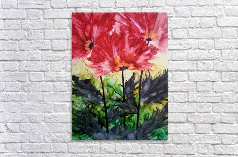 Poppies Galore  Acrylic Print