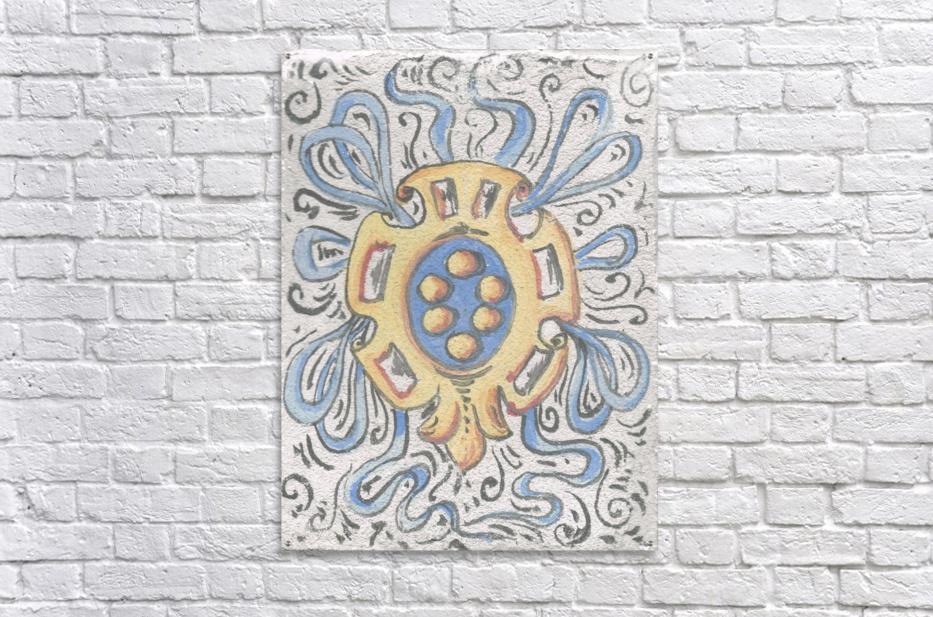 Florentia_ Crest - fresco  Acrylic Print