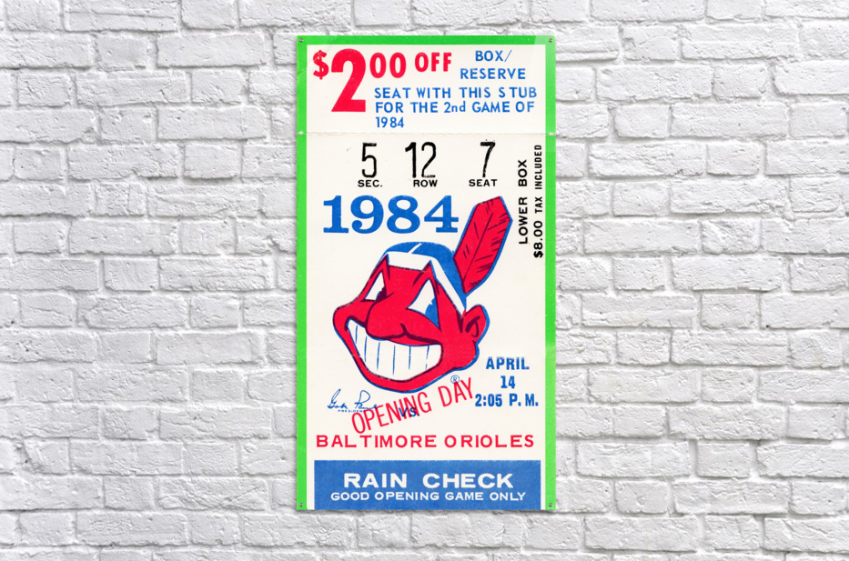 cleveland indians gift ideas fathers day ohio  Acrylic Print