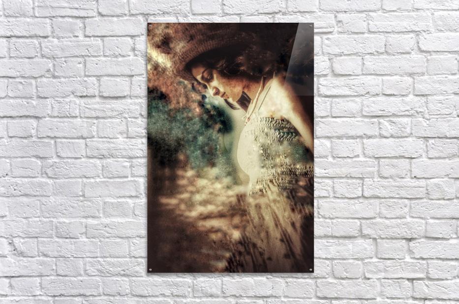 Girl by the Ocean  Acrylic Print