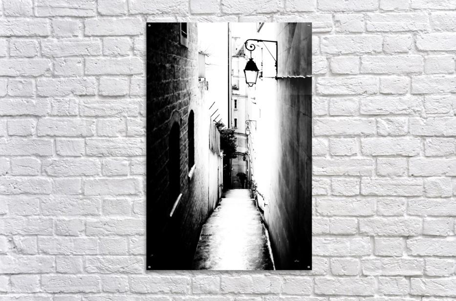 a very narrow street in Paris  Acrylic Print