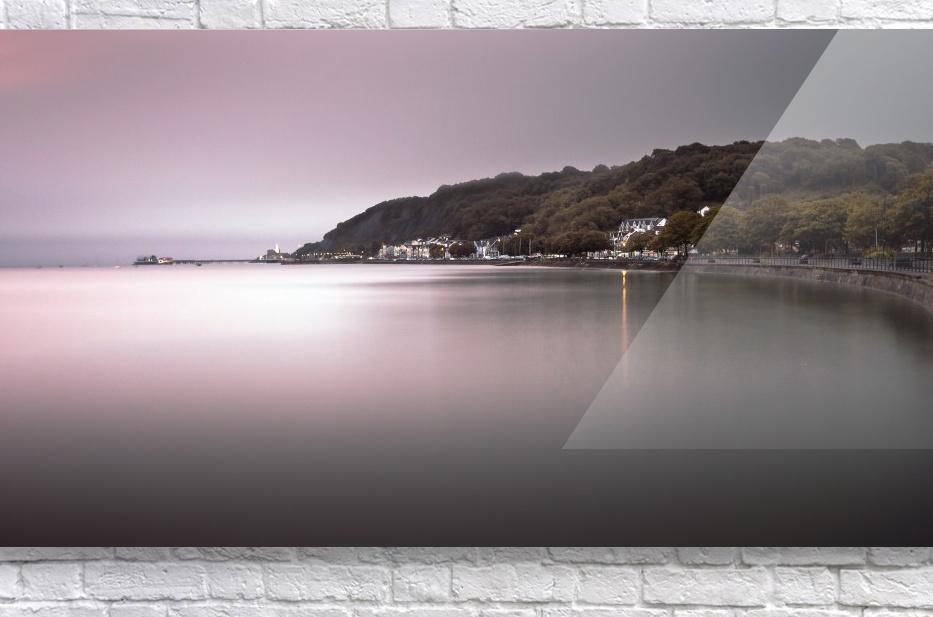 Mumbles coastline Swansea  Acrylic Print