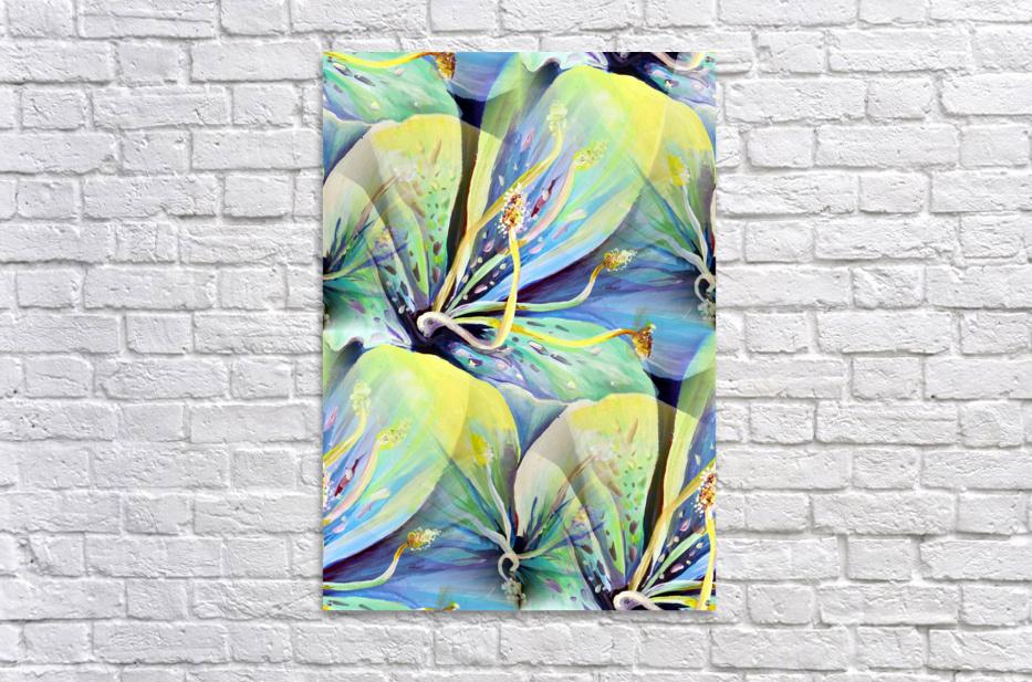 Blooming flowers Seamless Pattern  Acrylic Print