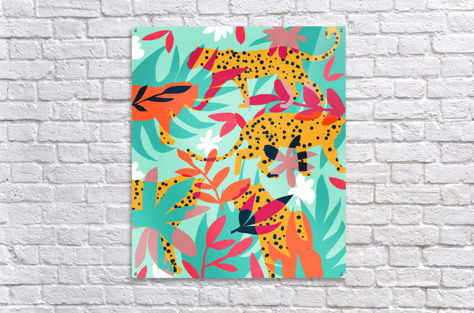 Chasing The Cheetah  Acrylic Print