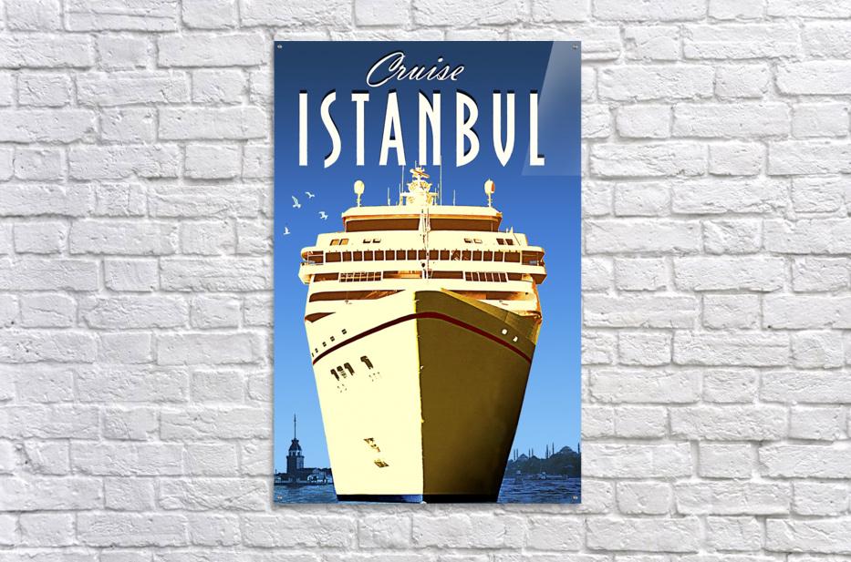 Cruise Istanbul  Acrylic Print