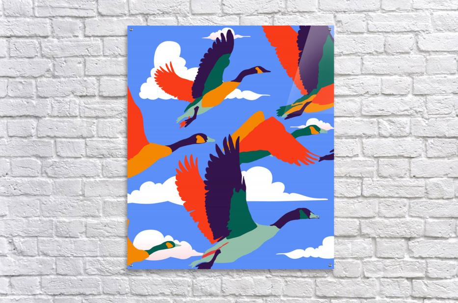 High On Life  Acrylic Print