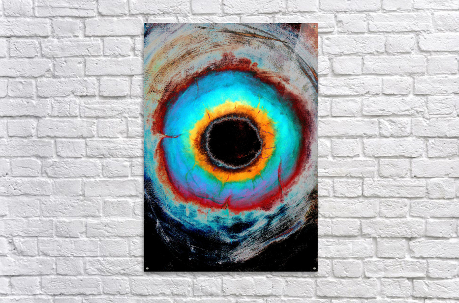 Glimpse of Black Hole No.1  Acrylic Print
