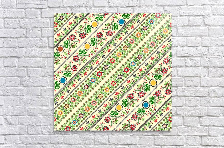 Hungarian seamless pattern   Acrylic Print